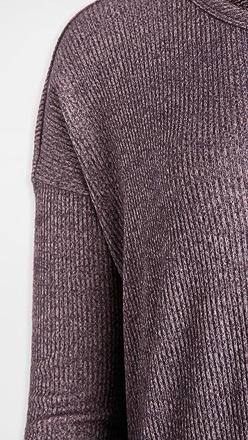 Rag & Bone/JEAN 针织罗纹毛衣