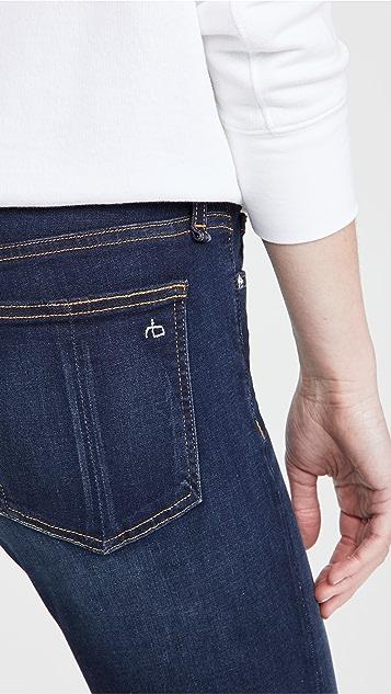 Rag & Bone/JEAN Cate 中腰紧身九分牛仔裤