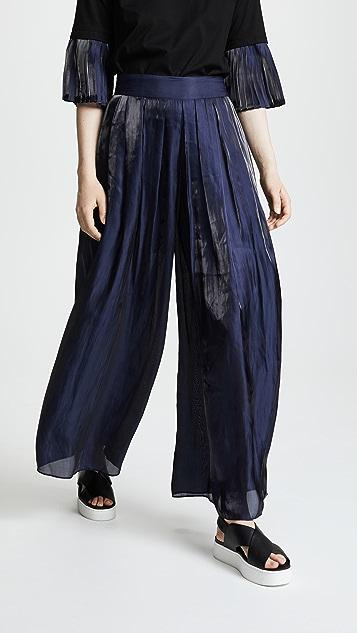 RHIE Watts Wide Pleat Pants