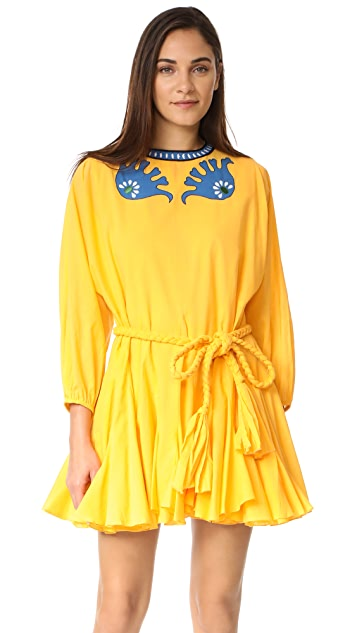 Rhode Resort Ella Embroidered Dress