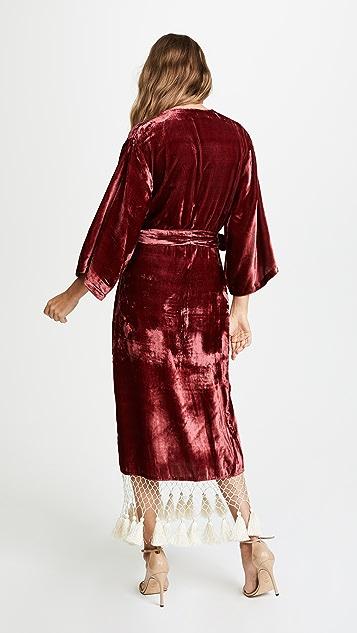 Rhode Resort Leonard Tassel Dress