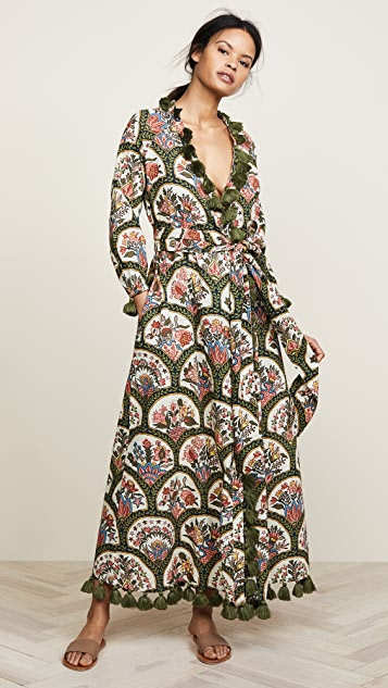 Rhode Resort Lena Robe Wrap Dress