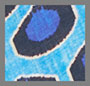 Синий икат