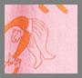 Pink/Orange Figure