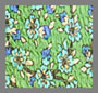 Turquoise Ditsy Floral