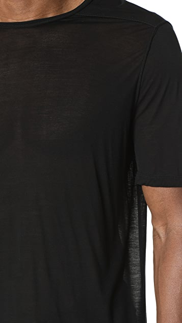 Rick Owens DRKSHDW Short Sleeve Level Tee
