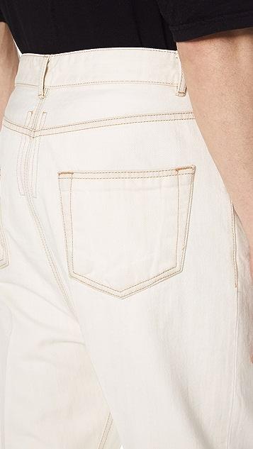 Rick Owens DRKSHDW Collapse Cut Jeans