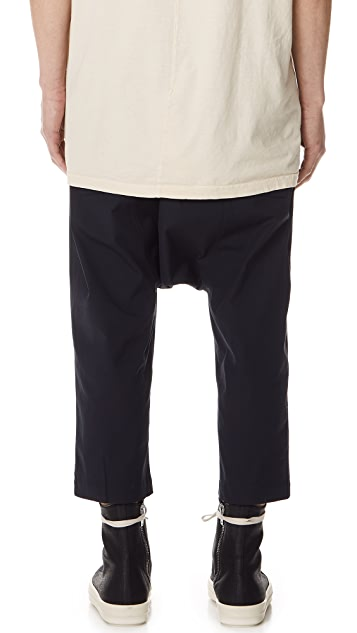 Rick Owens DRKSHDW Cropped Trousers