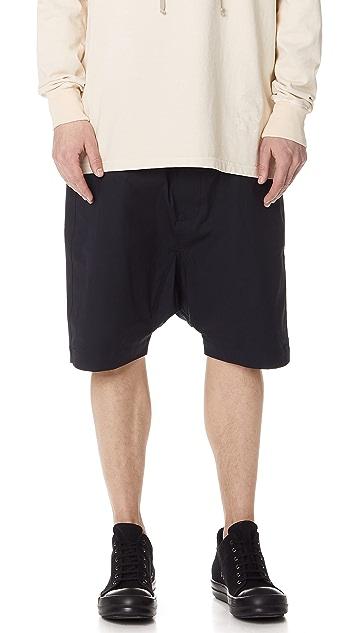 Rick Owens DRKSHDW Pod Shorts