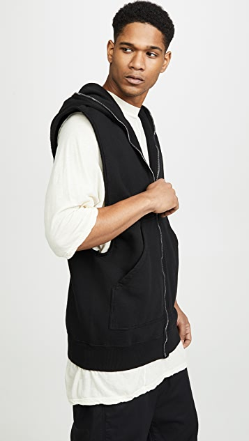 Rick Owens DRKSHDW Sleeveless Hoodie