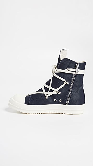 Rick Owens DRKSHDW Hexagram High Top Sneakers