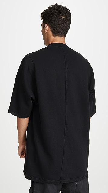 Rick Owens DRKSHDW Short Sleeve Jumbo T-Shirt