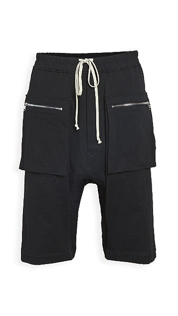 Rick Owens DRKSHDW Cargo Drawstring Pants