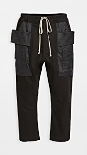 Rick Owens DRKSHDW Cropped Creatch Cargo Pants