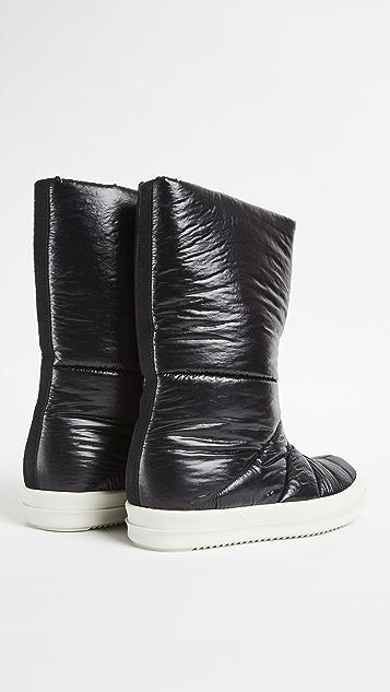 Rick Owens DRKSHDW Puffer Boots