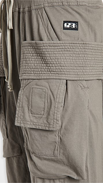 Rick Owens DRKSHDW Creatch Jersey Cargo Pants