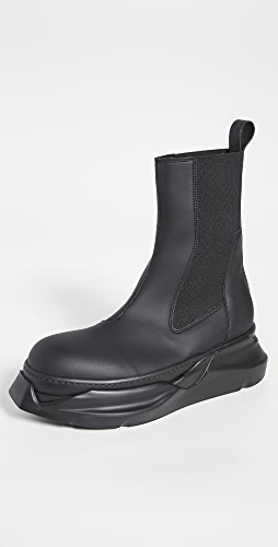 Rick Owens DRKSHDW - Beetle Abstract Boots