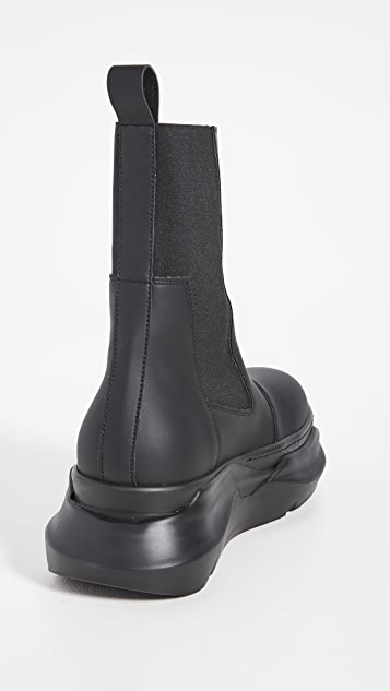 Rick Owens DRKSHDW Beetle Abstract Boots
