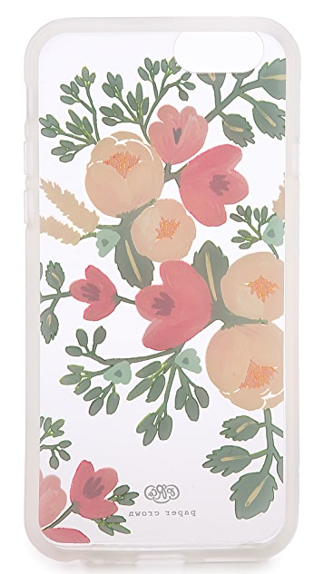 Rifle Paper Co Paper Crown Peach Blossom iPhone 6 / 6s Case
