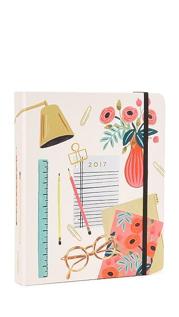 Rifle Paper Co 2017 Desktop Planner