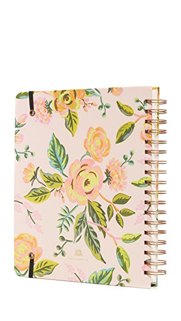 Rifle Paper Co Jardin De Paris 2017 Planner