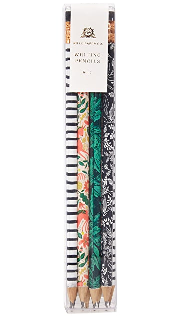 Rifle Paper Co Folk Pencil Set