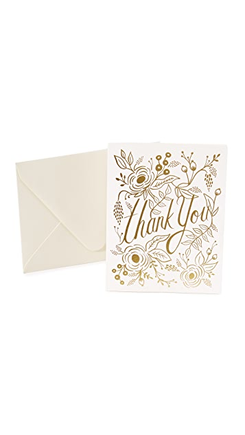 Rifle Paper Co Marion Thank You Cards