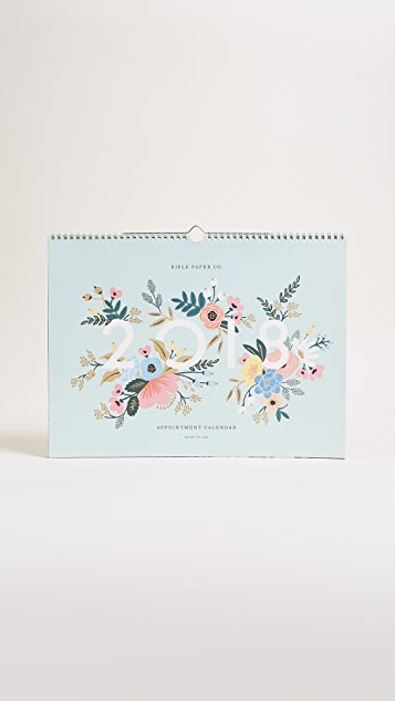 Rifle Paper Co 2018 Appointment Calendar
