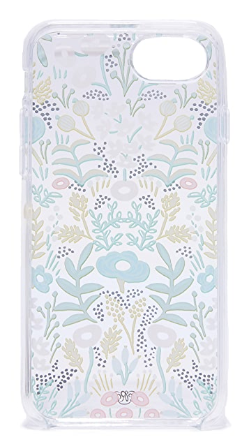 Rifle Paper Co Clear Tapestry iPhone 6 / 6s / 7 / 8 Case
