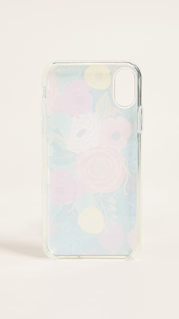 Rifle Paper Co Juliet Rose iPhone X Case