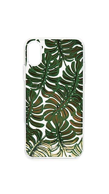 Clear Monstera iPhone X Case