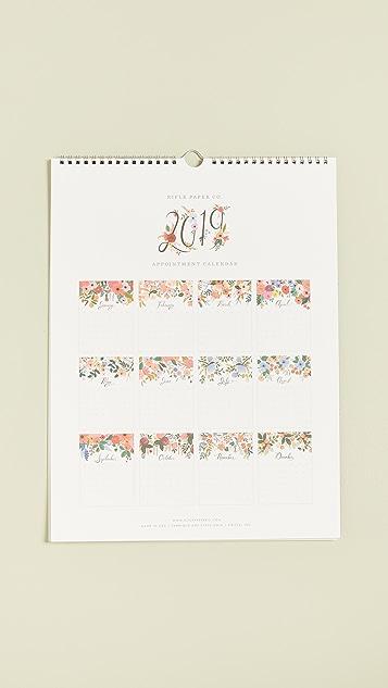 Rifle Paper Co Деловой календарь Bouquet на 2019год