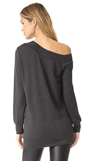 Riller & Fount Fritz Off Shoulder Sweatshirt