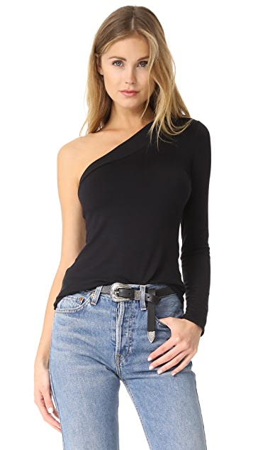 Riller & Fount Kip One Shoulder Top