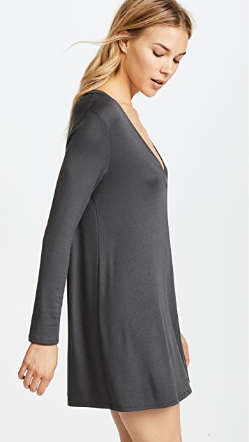 Riller & Fount Ribbed Kevin A-Line Dress