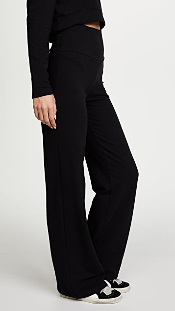 Riller & Fount Cammi High Waisted Wide Leg Sweatpants