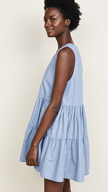 Riller & Fount Bonnie Tiered Mini Dress