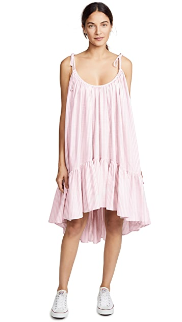 Riller & Fount Diana Tiered Midi Dress