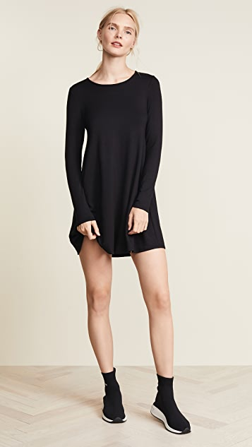 Riller & Fount Adelaide French Terry A-Line Dress