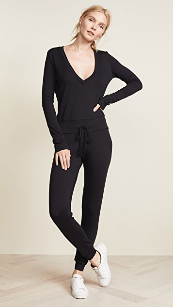 Riller & Fount Isabelle French Terry Jumpsuit