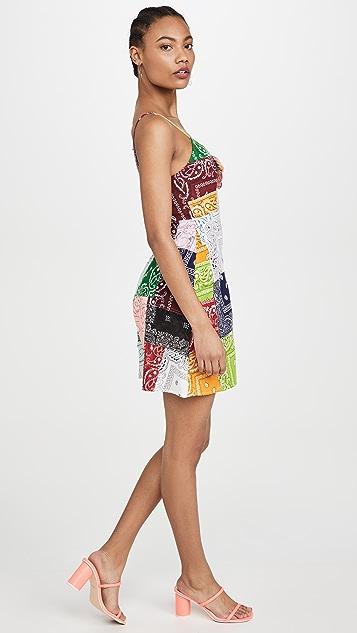 Riley Patchwork Mini Dress