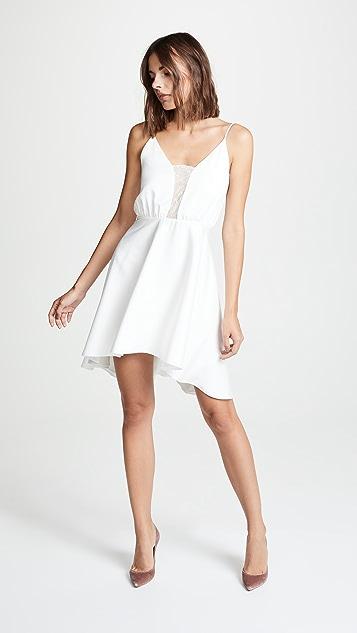 Rime Arodaky Misha Lace Trim Dress