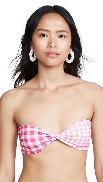 Riviera Sol Woodstock Bikini Top