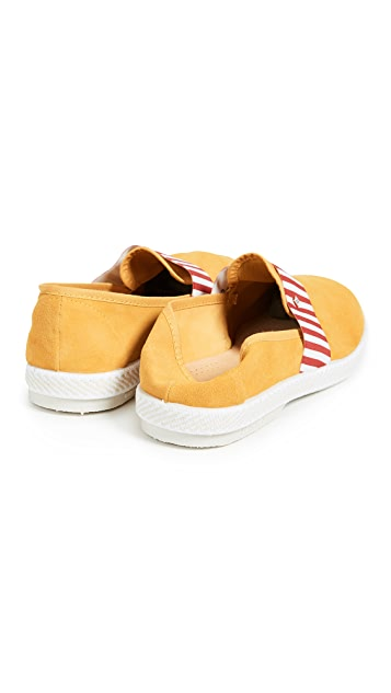 Rivieras Amalfi Slip Ons with Collapsible Heel
