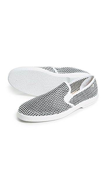 Rivieras Mod London Slip On Shoes