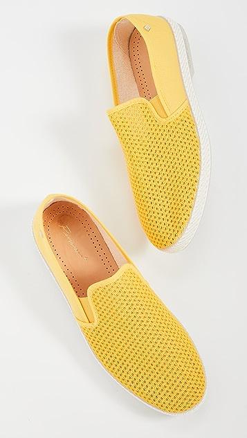 Rivieras Classic 20 Jaune Slip On Shoes