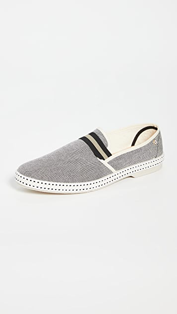 Rivieras College Yale Slip On Shoes