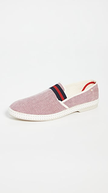 Rivieras College Rouge Slip On Shoes