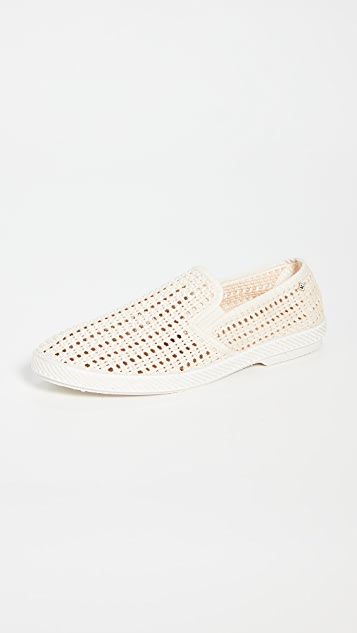 Rivieras Nice Matin Beige Slip On Shoes