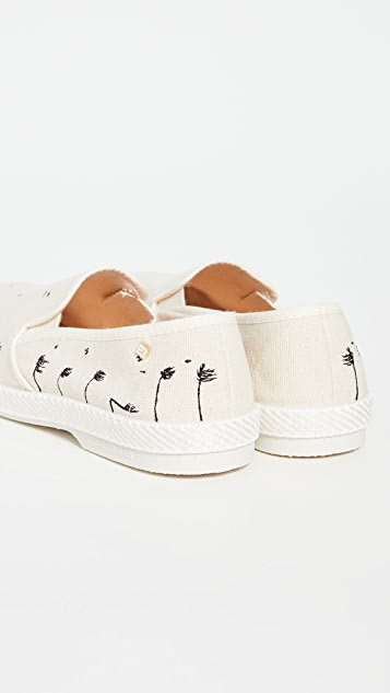 Rivieras Beverly Hills Slip On Shoes